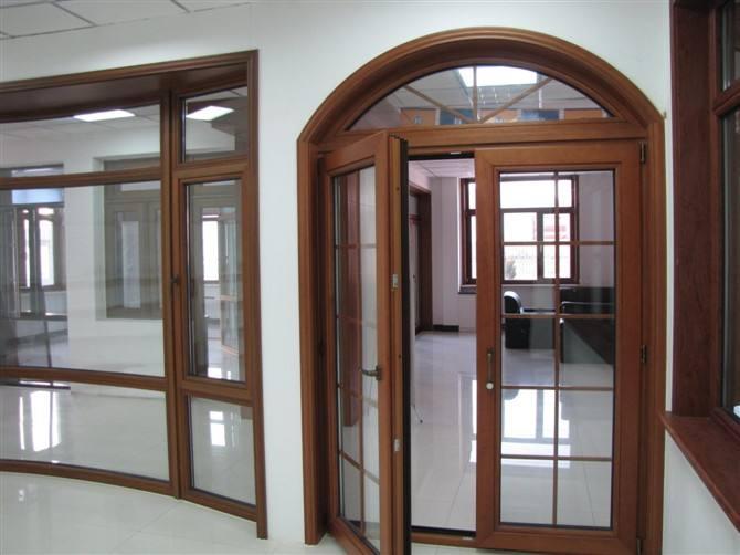 铝木复合门窗 九