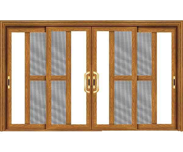 铝木复合门窗 二